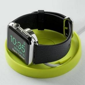 JOKORO Soft Rubber Charging Base Stand Holder for Apple Watch (Green)