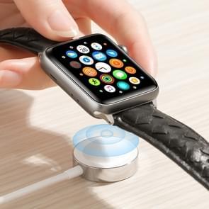 JOYROOM S-IW001 ben serie 1.2 m 2.5 W draagbare magnetische oplaadkabel voor Apple Watch (wit)