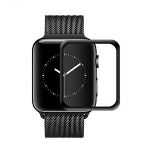 mocolo 0.33mm 9H 3D ronde rand Tempered glas Film voor Apple Watch serie 4 40mm (zwart)