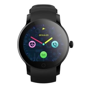 SMA-09S Smart Watch Phone, 128M+32M, 1.28 inch Color Touch Screen, MTK2502A, Support Music Control / Heart Rate Monitor / Sleep Monitor / Bluetooth Camera, Compatible with Android and iOS System(Black)