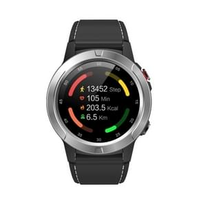 SMA-M4 1.3 inch IPS Color Touch Screen Smart Watch  IP65 Waterproof  Support GPS / Heart Rate Monitor / Sleep Monitor / Blood Pressure Monitoring (Silver)