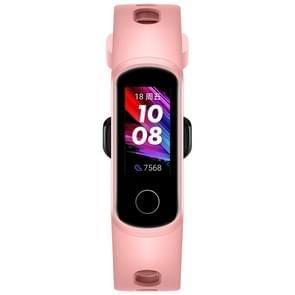 Originele Huawei Honor Band 5i 0 96 inch kleurenscherm Smart Sport Polsband  standaardversie  ondersteuning hartslagmeter / informatieherinnering / slaapmonitor (roze)