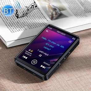 Originele Lenovo LX14 Bluetooth 4.0 Engels Luisteren Walkman Learning MP3-speler met 2 8 inch IPS-aanraakscherm  ondersteuning FM / TF-kaart (zwart)
