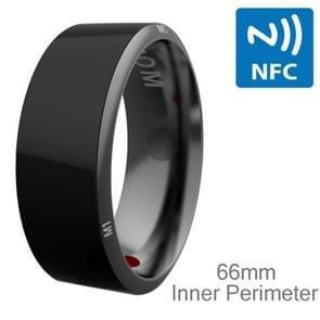 JAKCOM R3 Metallic Glass Smart Ring, Waterproof & Dustproof, Health Tracker, Wireless Sharing, Inner Perimeter: 66mm