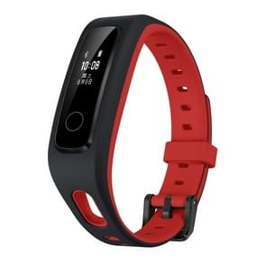 Originele Huawei Honor Band 4 uitgevoerd versie schoen-gesp Land Impact Slimme armband, 0,5 inch OLED-scherm, 5ATM waterdicht, steun slaap controleren / bericht herinnering / sedentaire herinnering / Bel Rejection(Red)