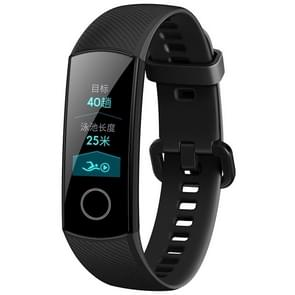Original Huawei Honor Band 4 Standard Version Smart Bracelet, 0.95 inch OLED Color Screen, 5ATM Waterproof, Support Heart Rate Monitor / Sleep Monitor / Message Reminder(Black)