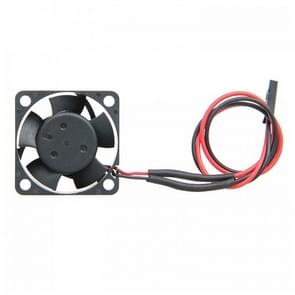 12V Cooler Axial Fan, Size:  40x40x10mm