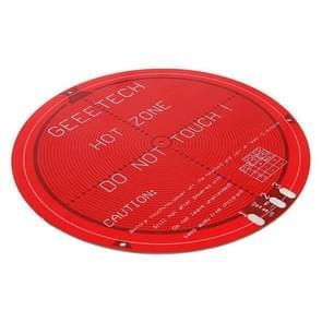 Round PCB Heat Bed for Delta Rostock Mini 3D Printer
