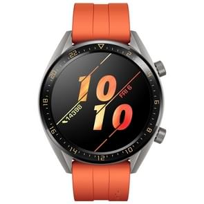 HUAWEI WATCH GT Sport Wristband 1.39 inch AMOLED 5ATM Waterproof Wristband Bluetooth Fitness Tracker Smart Watch, Support GPS / Heart Rate / Sleep Monitoring / Pressure Monitoring / Exercise Tracking / Pedometer /  Call Reminder(Orange)