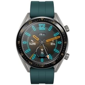 HUAWEI WATCH GT Sport Wristband 1.39 inch AMOLED 5ATM Waterproof Wristband Bluetooth Fitness Tracker Smart Watch, Support GPS / Heart Rate / Sleep Monitoring / Pressure Monitoring / Exercise Tracking / Pedometer /  Call Reminder (Green)