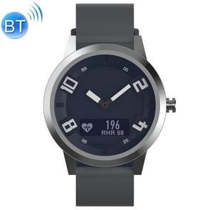 Lenovo Watch X OLED-scherm 316L roestvrijstalen waterdichte Bluetooth 5.0 Sport Smart Watch met siliconenriem  ondersteuning hartslagsensor / slaapmonitor / gebarenfoto (grijs)