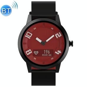 Lenovo Watch X OLED-scherm 316L roestvrijstalen waterdichte Bluetooth 5.0 Sport Smart Watch met siliconenriem  ondersteuning hartslagsensor / slaapmonitor / gebarenfoto (rood)