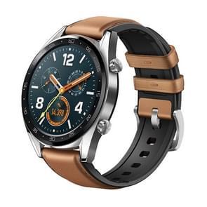 HUAWEI WATCH GT Fashion Armband Bluetooth Fitness Tracker Smart Watch, steun hartslag / druk controle / oefenen / stappenteller / slapen Monitor / Call herinnering / sedentaire herinnering (staal kleur)