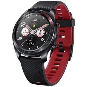 HUAWEI Honor magische Sport Armband 5ATM waterdicht Armband Bluetooth Fitness Tracker Smart Watch, ondersteuning voor GPS / hartslag / hoogtemeter / oefenen / stappenteller / Call herinnering / Barometer (zwart)