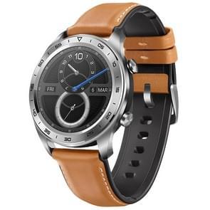 HUAWEI Honor Magic Fashion Armband Bluetooth Fitness Tracker Smart Watch, ondersteuning voor GPS / hartslag / hoogtemeter / oefenen / stappenteller / Call herinnering / Barometer(Silver)
