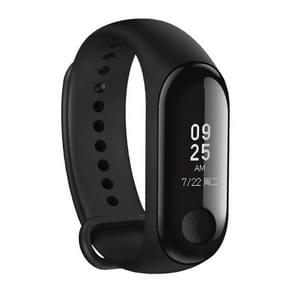 International Edition Original Xiaomi Mi Band 3 Fitness Tracker Smart Bracelet, 50m Swim Waterproof, Support Heart Rate Monitor / Weather Forecast / Sports Mode / Information Reminder (Black)