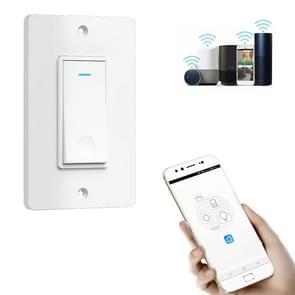 120 Type WiFi Smart Wall Touch Switch, US Plug(White)
