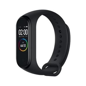 Original Xiaomi Mi Band 4 Fitness Tracker Smart Bracelet, AMOLED Color Screen, 50m Swim Waterproof, Support 24-Hour Heart Rate Warning / Sleep Monitor / Alarm Clock / Sports APP / Sedentary Reminder(Black)