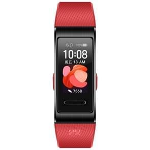 Originele Huawei band 4 Pro smart armband  0 95 inch AMOLED kleurenscherm  5ATM waterdicht  ondersteuning gezondheid monitoring/sport opname/bericht herinnering/Android NFC (rood)