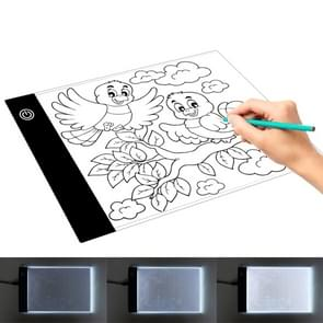 2.2W 5V LED Three Level of Brightness Dimmable A5 Acrylic USB Copy Boards Anime Sketch Drawing Sketchpad