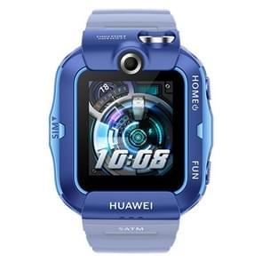HUAWEI Kids Watch 4X  1 41 inch AMOLED-scherm  1 GB+16 GB  ondersteuningspositionering / videogesprek / Dual HD-camera / 50m waterdicht  4G-netwerk(blauw)