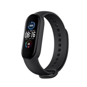 Originele Xiaomi Mi Band 5  Ondersteuning Smart Home Control / AI Spraakassistent / Hartslag & Slaap & Stappen & Zwemmen Sport Monitoring / APP Push Reminder Alarm(Zwart)