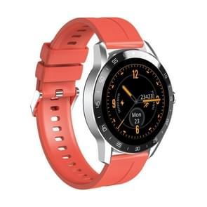 Blackview X1 1 3 inch TFT-scherm Smart Watch met TPU-band  5ATM waterdicht  ondersteuning hartslagmeter / slaapmonitor / 9 sportmodi (oranje)