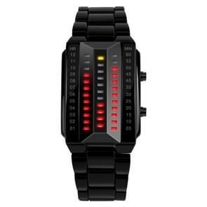 SKMEI 1013 Multifunctional Female Outdoor Fashion Noctilucent Waterproof LED Digital Watch(Black)