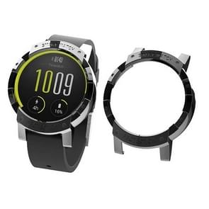 For Tic Watch E Plating PC Protective Case (Black)