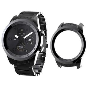 For Tic Watch Pro  Plating PC Protective Case (Black)