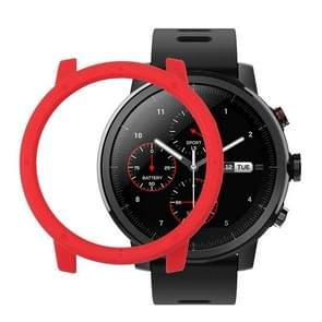 For Amazfit Stratos PC Protective Case (Red)