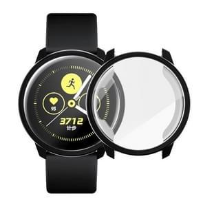 Voor Samsung Active Watch volledige dekking TPU beschermhoes (zwart)