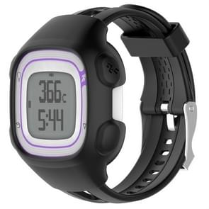 Smart Watch Silicone Protective Case for Garmin Forerunner 10 / 15(Black)