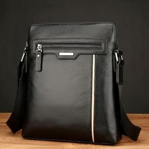 WEIXIER 18072 Men Business Leisure Style PU Leather Single Shoulder Bag (Black)