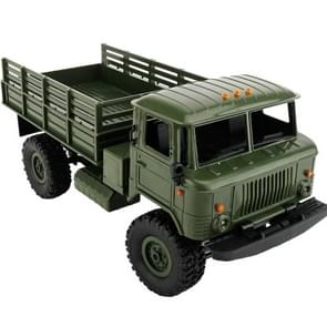 WPL B-24 DIY vergadering 1:16 Mini 4WD Truck van RC militaire controle auto Toy(Green)