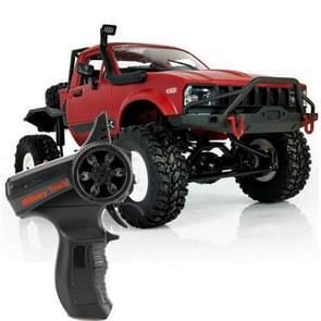 WPL-C-14 1:16 Mini 2.4G RC Crawler van 4WD Off Road auto met licht (rood)