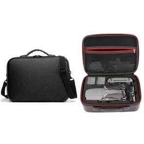 Portable Double-deck Single Shoulder Waterproof Storage Travel Carrying Cover Case Box for DJI Mavic Air (Black)