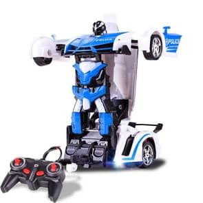 1023 4 Channels Remotely Deformed Car Police Model Car Toy Car