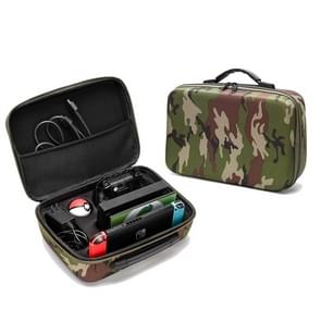 Portable EVA Storage Bag Suitcase Protective Box for Nintendo Switch (Camouflage)