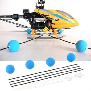 400/450 RC afstandsbediening helikopter blauw training frame Aeromodelling accessoires