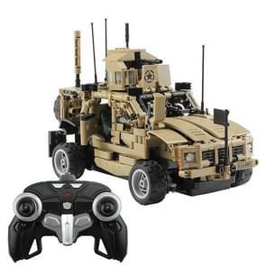 MoFun MZ6001 DIY Assembly Building Block Remote Control Armored Assault Vehicle