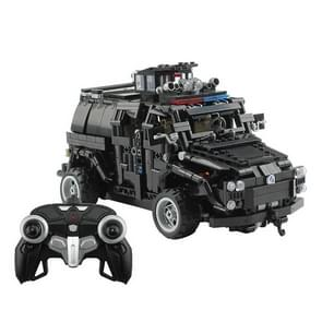 MoFun MZ6002 DIY Assembly Building Block Remote Control Special Police Armored Vehicle
