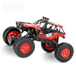 JJR/C 1:20 2.4Ghz 4 Channel Remote Control Off-road Climbing Truck Vehicle Toy(Red)
