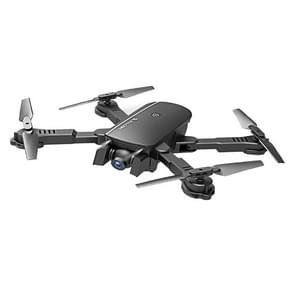 1808 2.4GHz Foldable 4-Axis Quadcopter with Remote Control, Support  Altitude Hold & 480P Wifi Camera (Black)