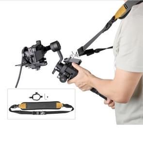 Sunnylife RO-Q9228 handheld Gimbal speciale Lanyard schouderband + vaste ring hang gesp voor DJI RONIN-SC