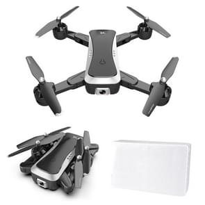 S36 2.4GHz 6-Axis 4CH Foldable HD Aerial Photography Quadcopter with 4K Dual Camera (Black)