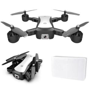 S36 2.4 GHz 6-assige 4CH opvouwbare HD luchtfotografie Quadcopter met 4K dual camera (wit)