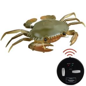 9995 Infrarood Sensor Afstandsbediening gesimuleerde Krab Creatieve Kinderen Elektrische Speelgoed Model (Groen)