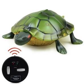 9993 Infrarood Sensor Afstandsbediening gesimuleerde schildpad Creatieve Kinderen Elektrische Lastige Speelgoed Model (Groen)