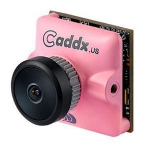Caddx.us Turbo micro F2 mini 1200TVL 2.1 mm lens FPV kleuren camera met 1/3 inch CMOS sensor, NTSC/PAL veranderlijk (roze)